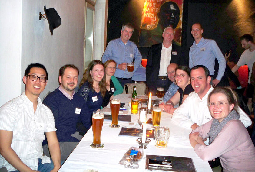 Alumni get together in Berlin
