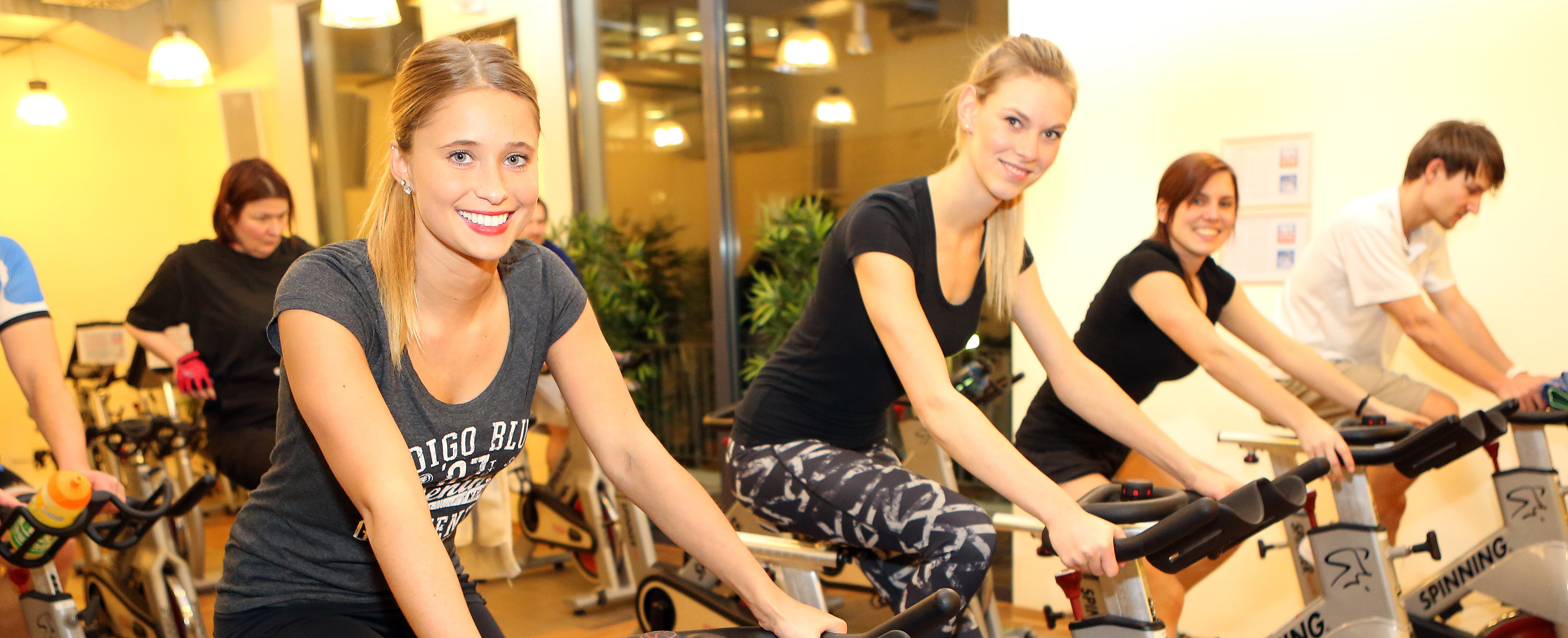 Spinning participants