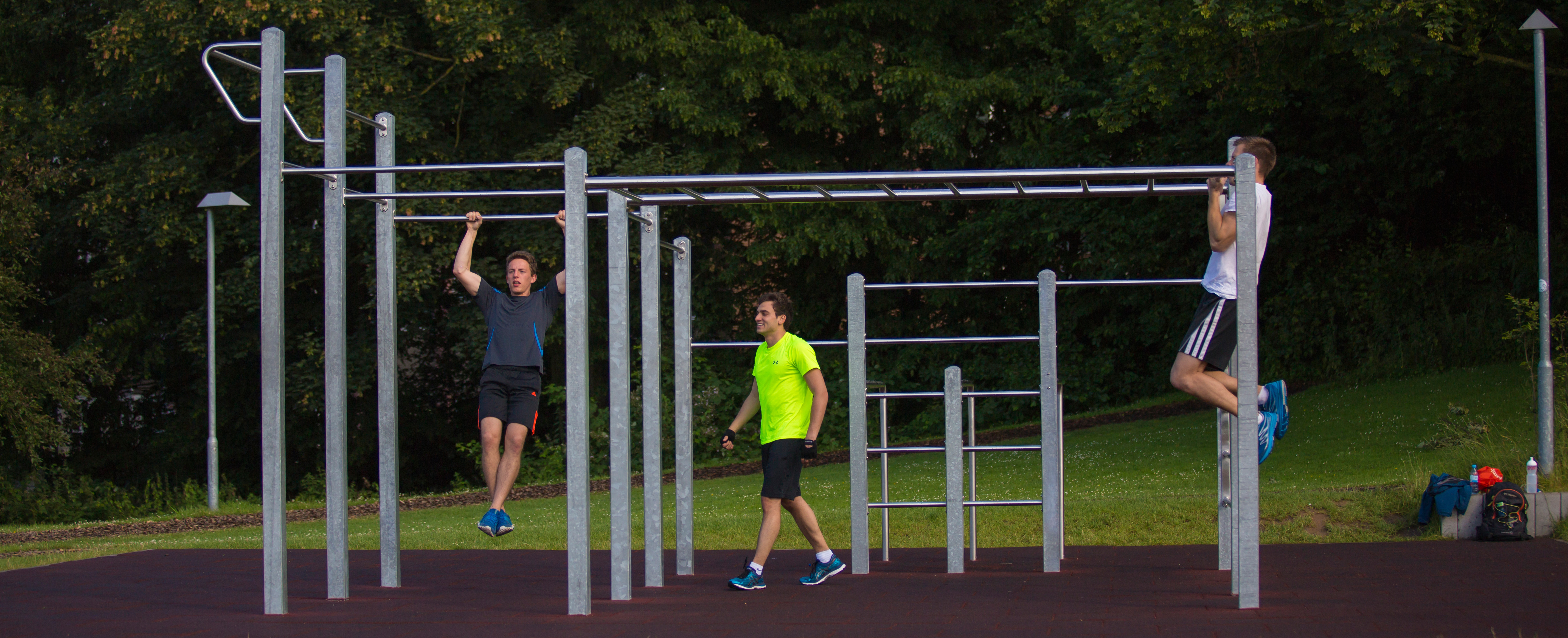 Outdoor Fitnessanlage 2