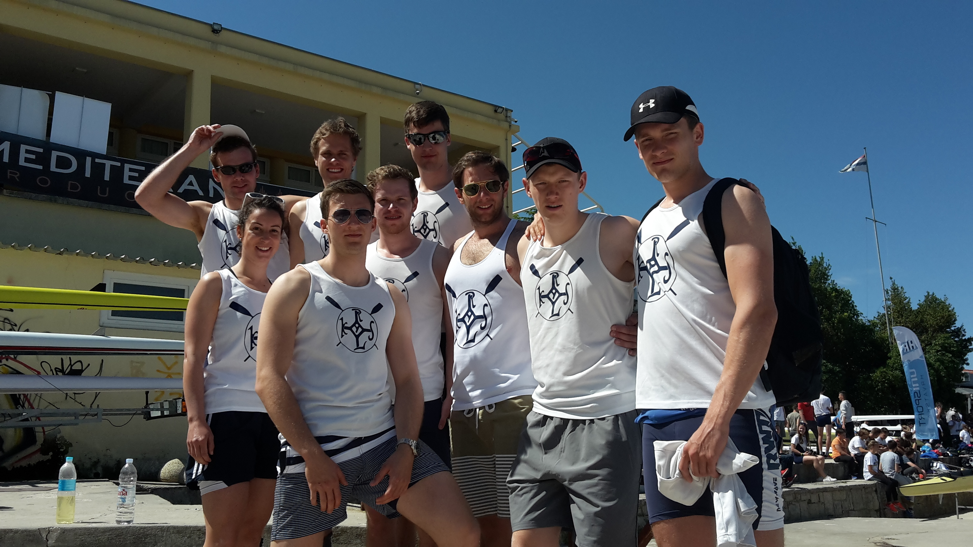 The RWTH rowing eight