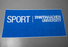 Hand towel with University Sports logo